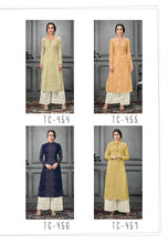 Tucute 450-457 Designer Kurtis catalogue
