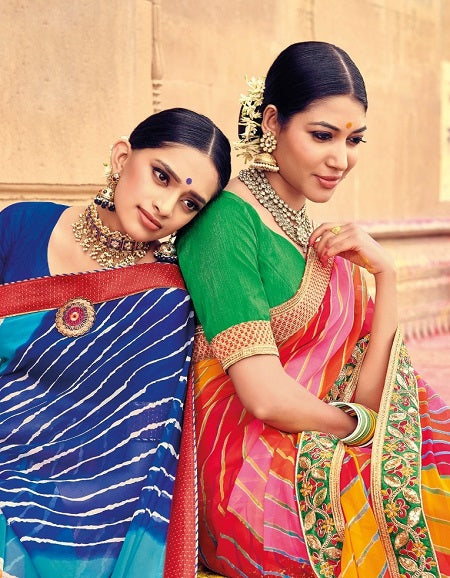 Special Royal Collection With Indian Traditional Colors And Unique Work Crafted On Designer Fabrics