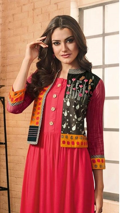 Designer Kurtis Wholesale Catalogue Vintage Tapsee Pannu - Textile And Handicraft
