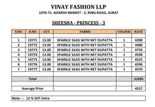 Sheesha Princes Vol. 3  catalogue