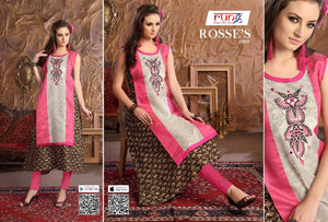 Rung - Roses - Textile And Handicraft