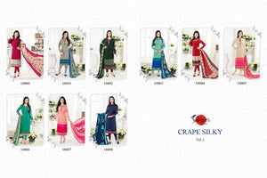 Crape Silky Vol. 2 - Textile And Handicraft