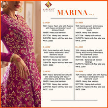 Marina Vol. 3  catalogue