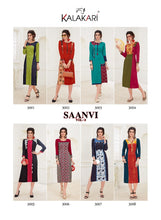 Designer Kurtis Wholesale Catalogue Kalakari NX- Saanvi 3  catalogue