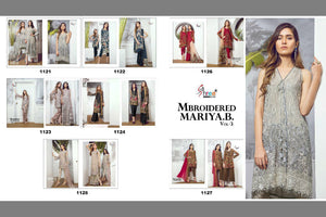 Mbroidered Mariya B Vol. 3 - Textile And Handicraft