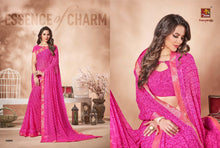 Ananya Vol. 6 georgette sarees wholesale catalog Georgette Sarees catalogue