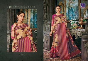 Cotton Sarees Wholesale - Pure cotton prints with base kota fabric and weaving