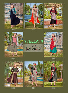 Designer Kurtis Wholesale Catalogue Stella Vol. 3 - Textile And Handicraft