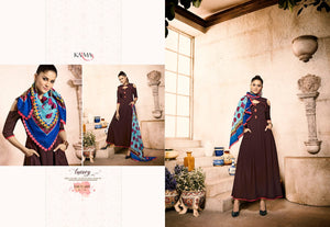 Designer Kurtis Wholesale Catalogue Karma - Tucute - Textile And Handicraft