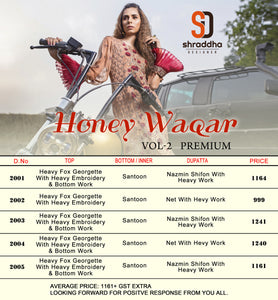 Honey Waqar Vol. 2 - Textile And Handicraft