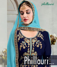 Phillauri Vol - 17-Heavy Georgette Plazo Suit with Coding and Hand work  catalogue