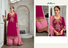 Phillauri Vol - 17-Heavy Georgette Plazo Suit with Coding and Hand work Georgette Kurtis catalogue