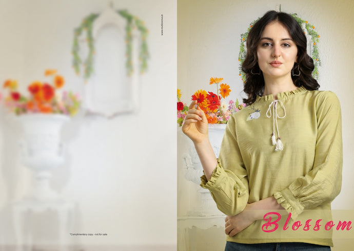 EPSILON VOL-3, PURE VISCOSE WESTERN TOP - Textile And Handicraft