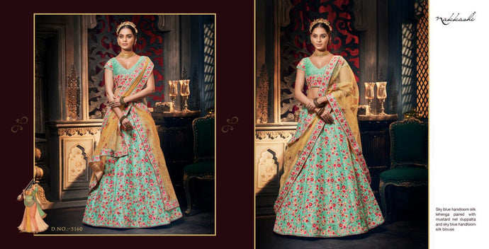 REET-5160, DESIGNER LEHENGA - Textile And Handicraft