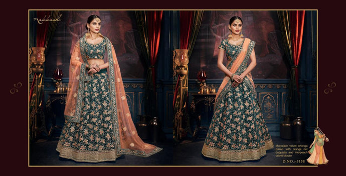 REET-5158, DESIGNER LEHENGA - Textile And Handicraft
