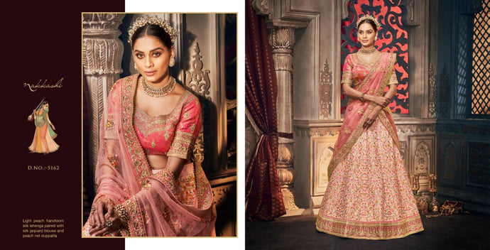 REET-5162, DESIGNER LEHENGA - Textile And Handicraft