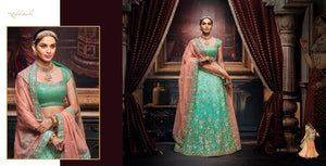 REET-5154, DESIGNER LEHENGA - Textile And Handicraft