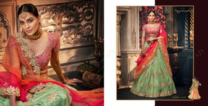 REET-5155, DESIGNER LEHENGA - Textile And Handicraft