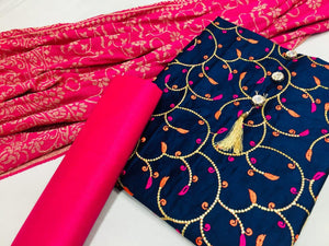MOURIYA- COTTON DRESS MATERIAL ( SET OF 4)