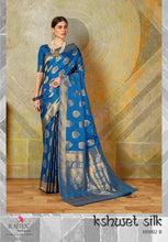 KSHWET SOFT HANDLOOM SILK WEAVING SAREE ( SET OF 7)  catalogue