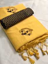 RANGOLI-2/ SILK EMBROIDERED SAREE WITH JECORD BLOUSE (SET OF 6)  catalogue