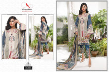 FIRDOUS LAWN COLLECTION VOL-3, KAARA COTTON DIGITAL PRINT SUIT WITH EMBROIDERY(SET OF 7)  catalogue