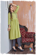 PRACHEEN VOL-3 Rayon Viscous Printed KURTI  (SET OF 6)  catalogue