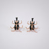 Insect Enamel Earrings Butterfly