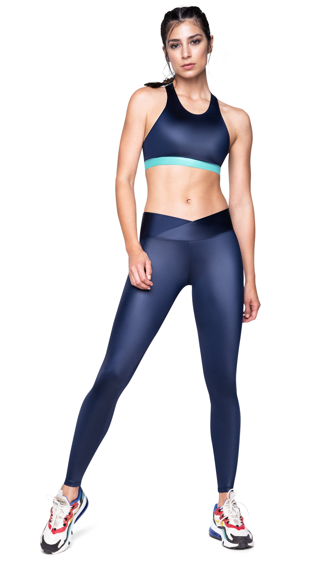 Beat A Bee Beat Glam Reversible Sports Bra