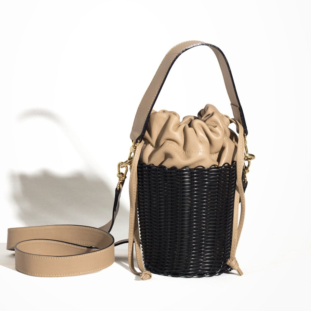 Nero Leather Bucket Bag