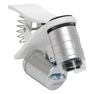 Active Eye Universal Phone Microscope 60x w / Clamp
