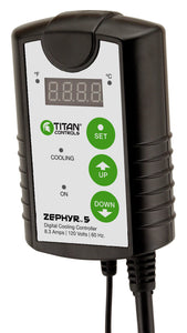 Titan Controls Zephyr 5 - Digital Cooling Thermostat Controller