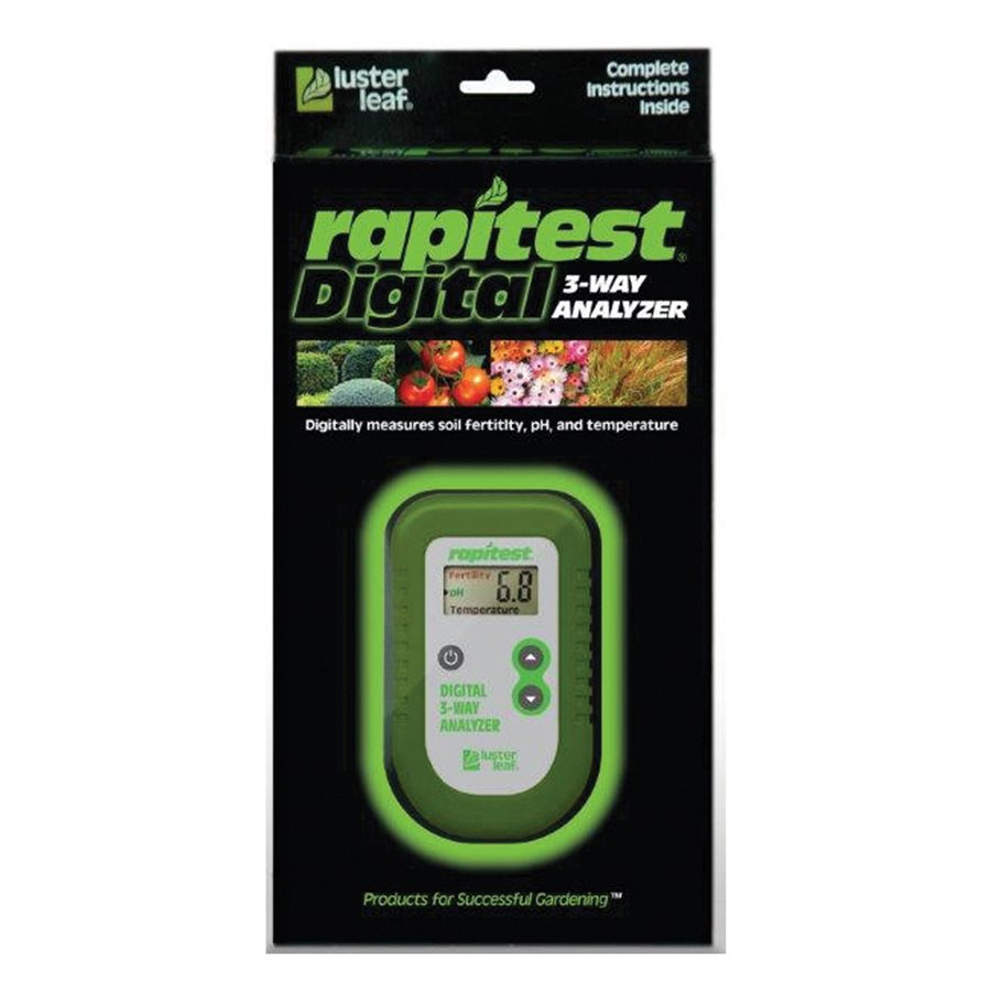 LUST Rapitest 3-Way Digital Analyzer.