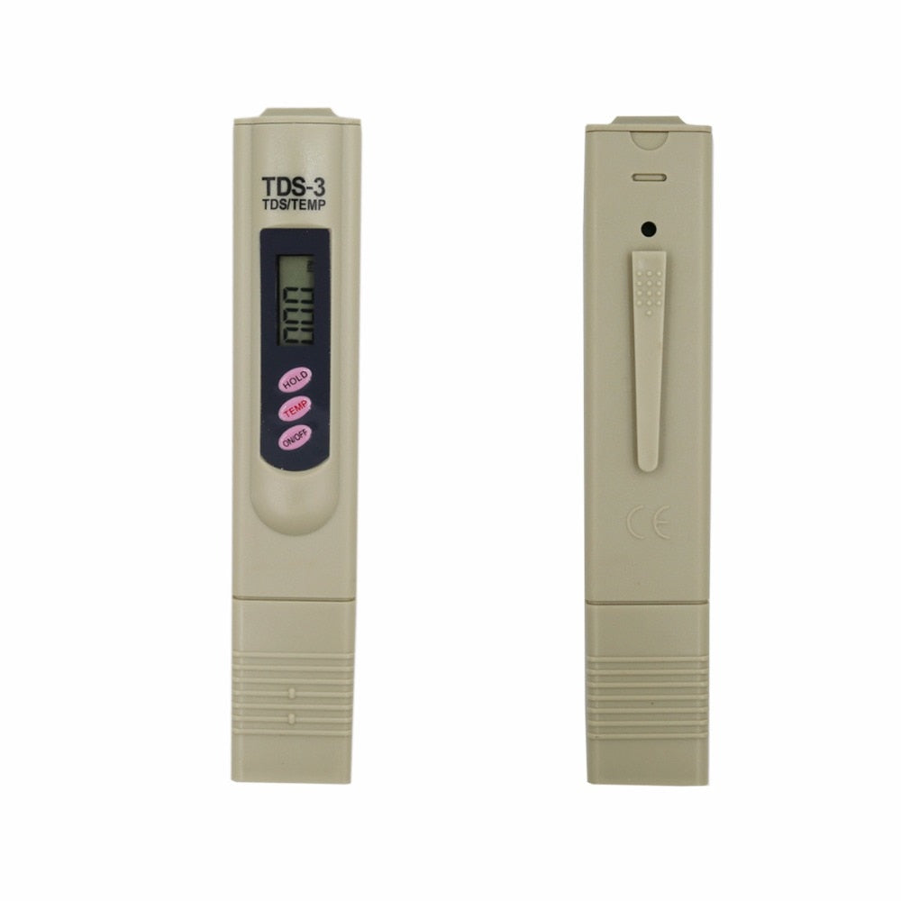 LCD Digital Portable conductive Pen TDS Tester 0-9999 PPM