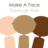Playdough Face Mats - Printable PDF