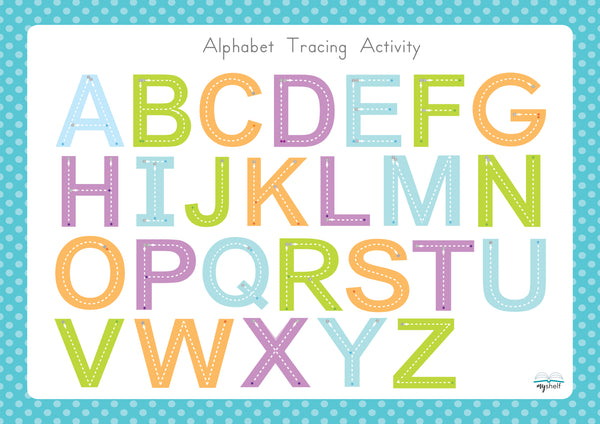 Alphabet Tracing Activity (Uppercase)