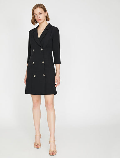 Blazer Dress in Black