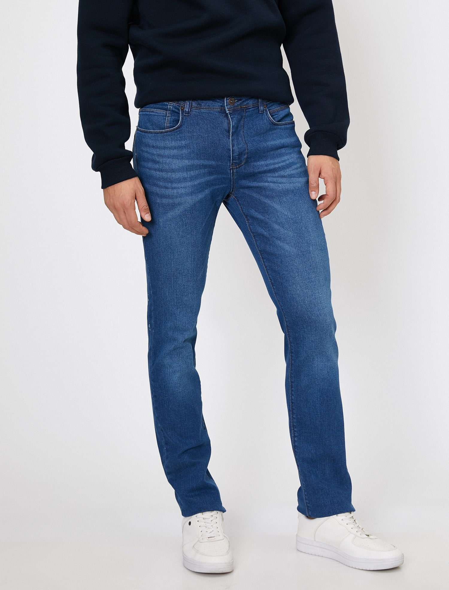 Slim Fit Brad Jeans in Medium Wash