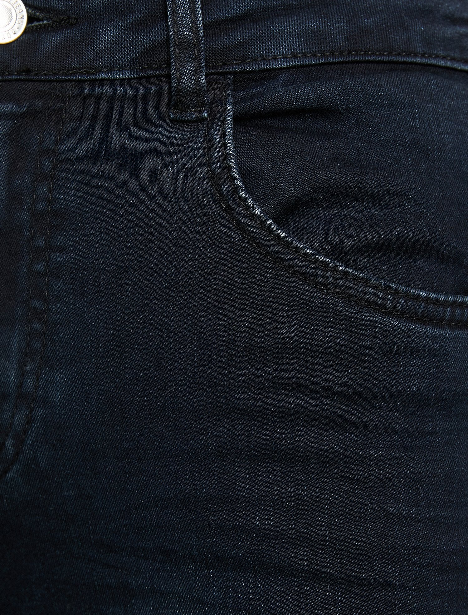 High-Rise Carmen Jeans in Dark Indigo