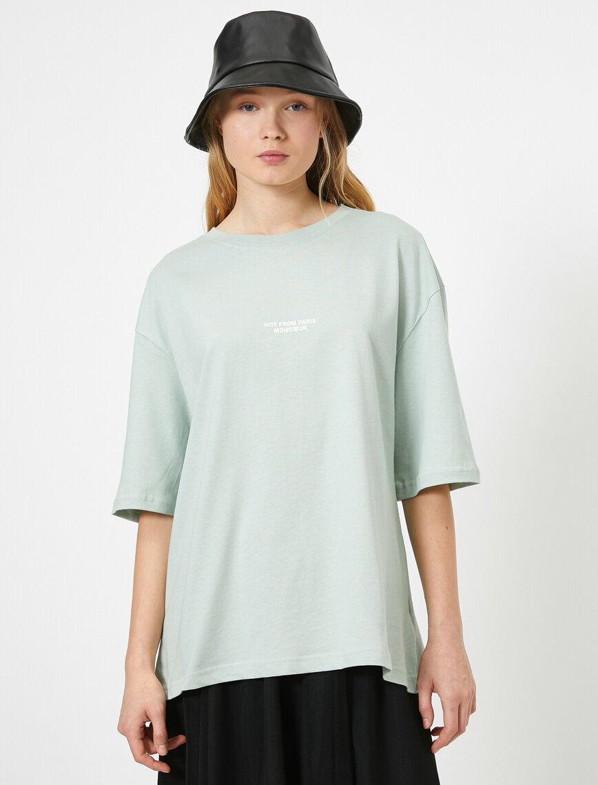 Oversize Tshirt in Teal