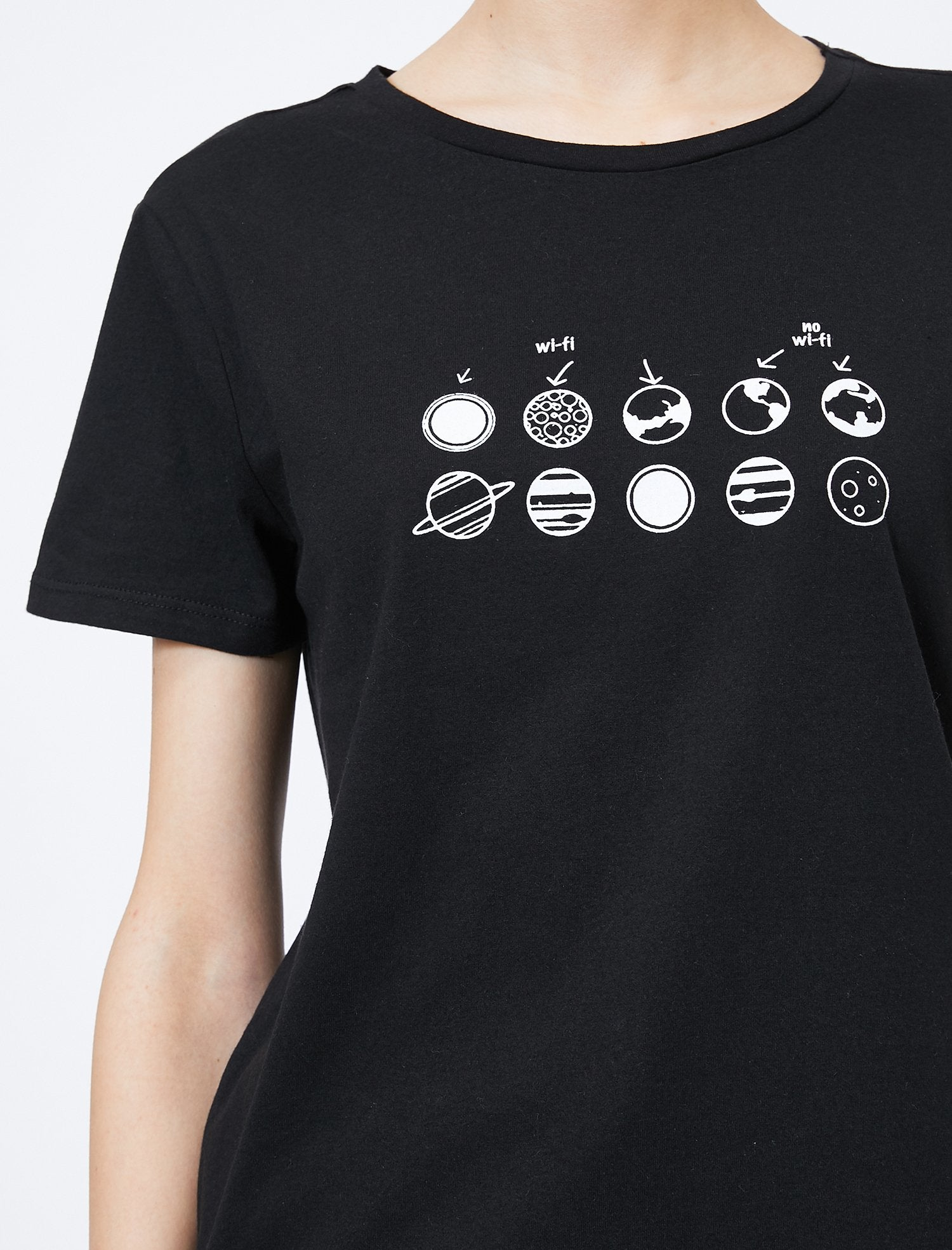 Graphic Tshirt in Black