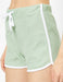 Pull On Fleece Shorts in Green