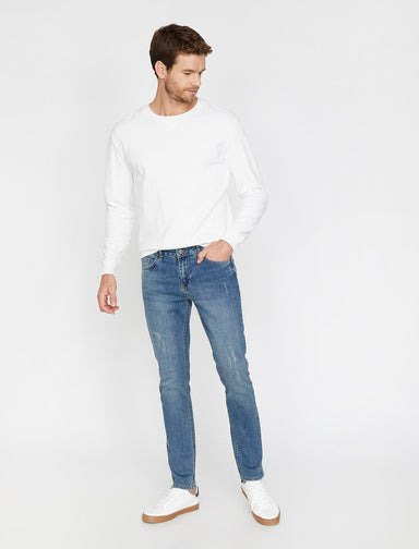 Slim-Fit Michael Jeans in Heavy Wash