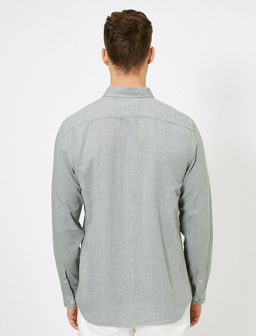Oxford Shirt in Gray