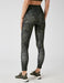 High Rise Leggings in Green Camo