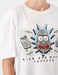 Rick and Morty Graphic Tshirt in White