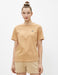 Koala Embroidery Tee in Tan