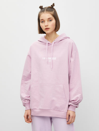 The Sun Oversize Hoodie in Lilac