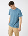 Textured Pique Tshirt in Blue