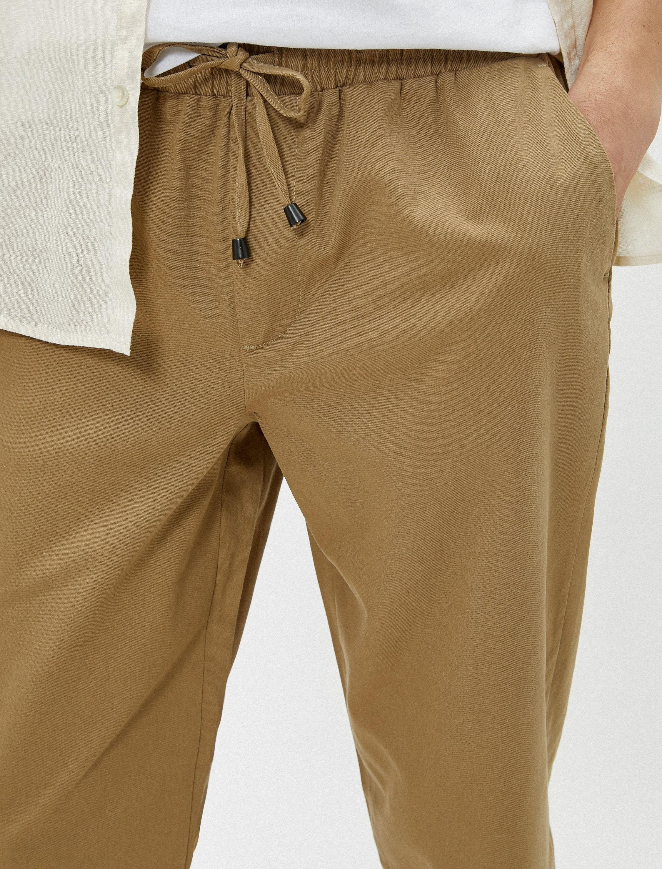 Pull On Joggers in Dune